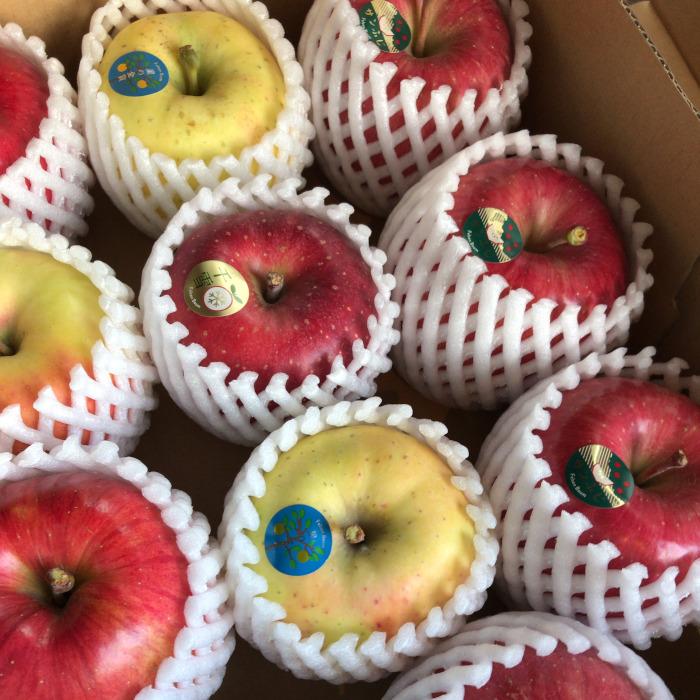 りんごの詰め合わせ